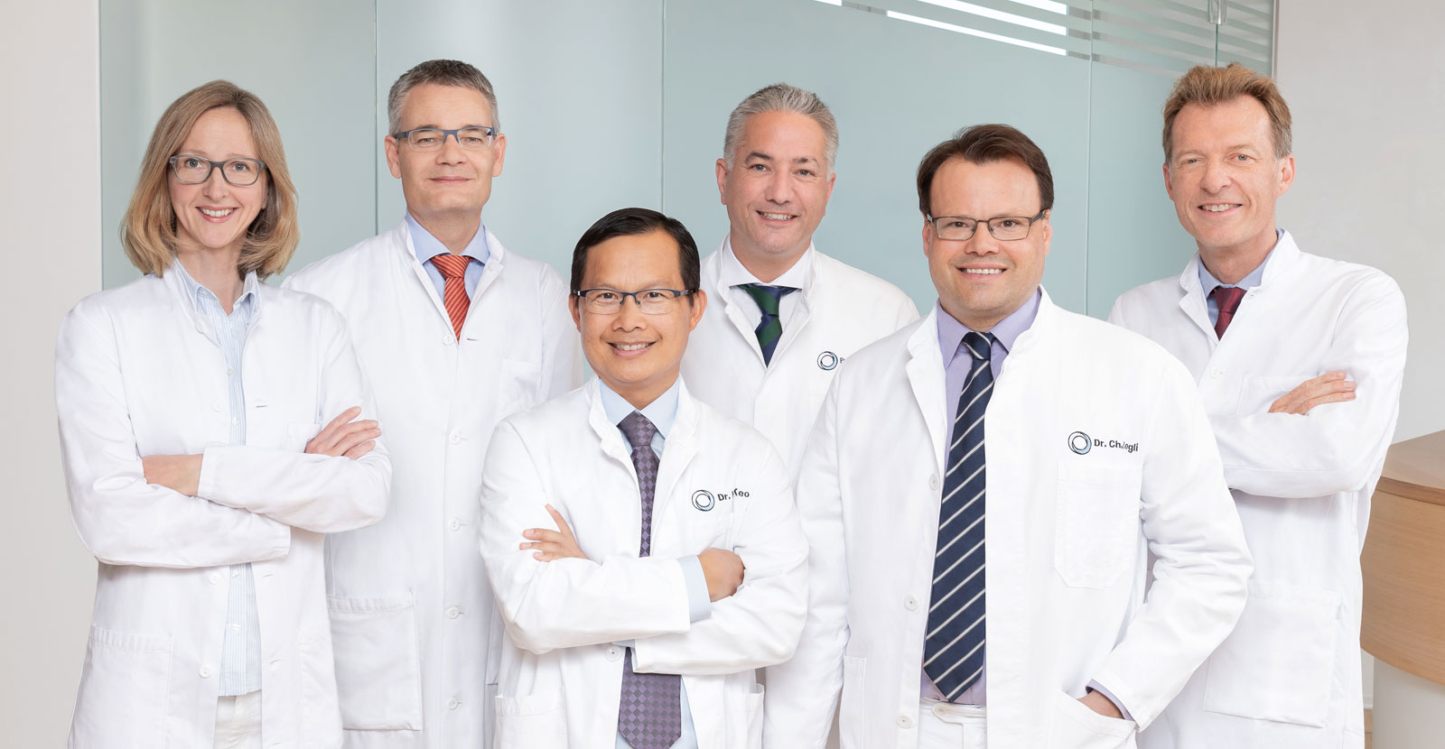 Group picture of the experts for erectile dysfunction